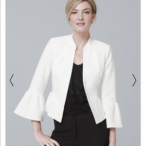 NWT. White House black market bell sleeve jacket